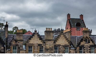 Edinburgh, Scotland - Roofs in Edinburgh, Scotland