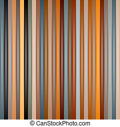 Abstract Retro Vector Striped Background
