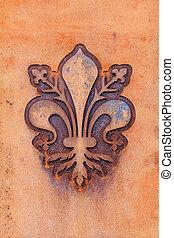 Fleur de Lis of Florence - The fleur de lis of Florence,...