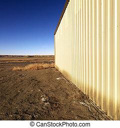 Storage building in Utah.