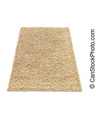 Floor Rug - A floor rug isolated on a plain background