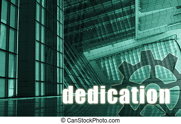 Dedication Futuristic as a Art Abstract Background