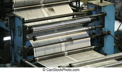 Printing machine - Automatic printing machine rolling paper...