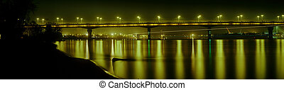 Bridge named after EO Paton night - Bridge named after EO...