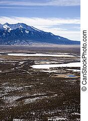 Valley landscape in Colorado.