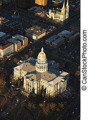 colorado, 州, デンバー, 国会議事堂, 建物