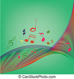 musical wave