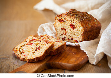 Sundried tomato bread - Sundried tomato and cheese bread