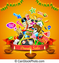 Diwali Festive Offer - illustration of Festive Offer for...