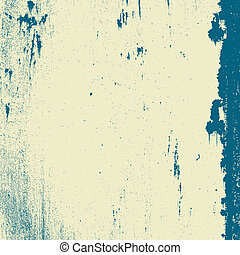 Old Messy Background - Grunge grainy texture with stains and...