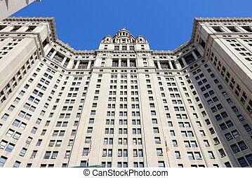Manhattan Municipal Building - New York City, United States...