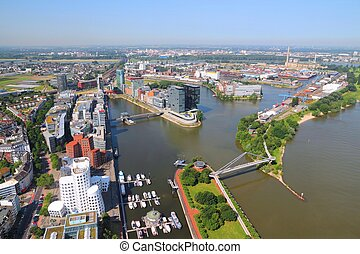 Dusseldorf - city in North Rhine-Westphalia region of...