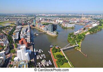 Dusseldorf - city in North Rhine-Westphalia region of...