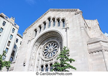 New York City synagogue - New York City, United States -...
