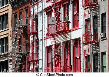 Soho, New York - New York City, United States - old...