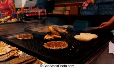 grilled meat - barbecue grilled meat