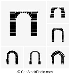 Arches - Set of arch icons