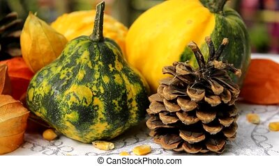 pumpkins lovely decor