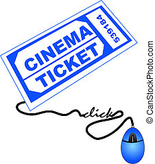 buying cinema tickets online - shopping for cinema or movie...