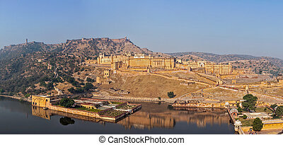 Amer (Amber) fort, Rajasthan, India - Famous Rajasthan...