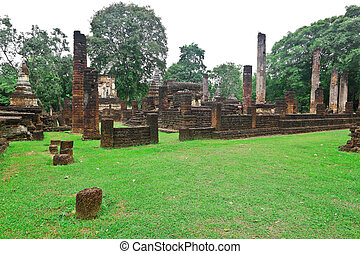 Ancient civilization area of Sri Sacha Na Lai city