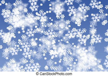 Snowstorm - Illustration of Snow storm. Background image of...