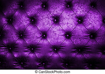 Luxury violet leather close-up background with great detail for background, check my port for a seamless version