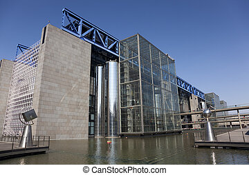 Cite des sciences et de l'industrie, Paris, Ile de France,...