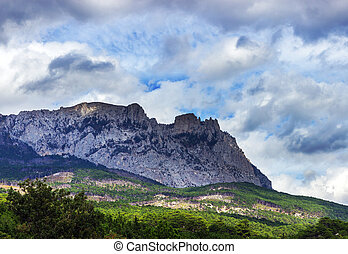 Ay-Petri mountain in Crimea, Ukraine
