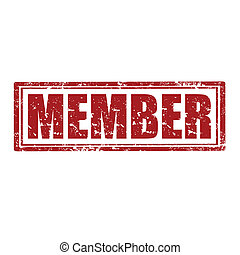 Member-stamp