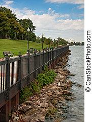 RiverFront Park - Michigan park along the detroit river