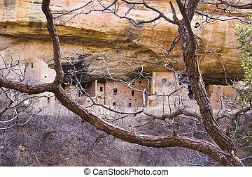 Mesa Verde - Ancient ruins of pre-historic Indian cultures...