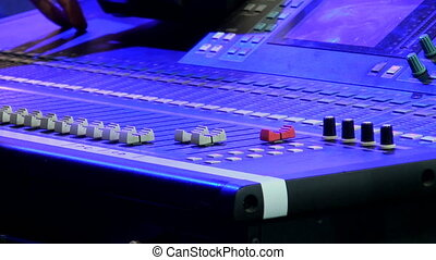 Stage sound control