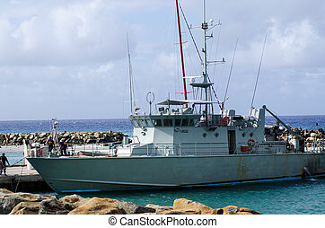 Port of Avatiu - Island of Rarotonga, Cook Islands -...
