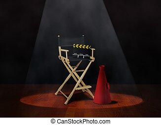 Director Chair with Clapper