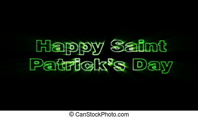 Saint Patricks Day - HD animation with elements explosion