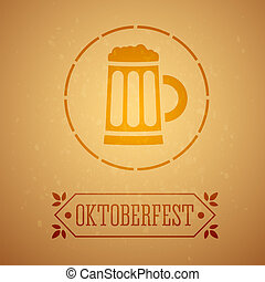 Oktoberfest Poster.