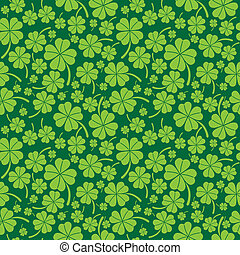 Saint Patricks Day Pattern - Saint Patricks day seamless...
