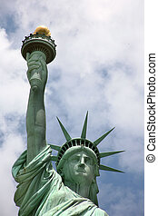 USA, New York, Statue of Liberty - Statue of Liberty in New...