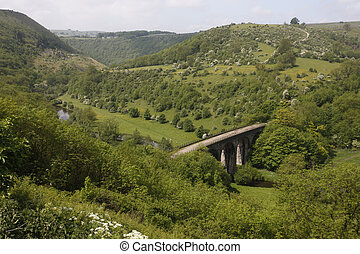 Monsal Dale, Derbyshire, UK
