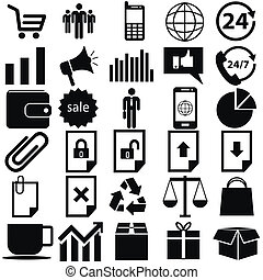 Icons for the site, online store