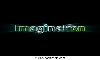 Imagination - HD animation with elements explosion