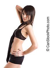 Beautiful sexy asian girl - A beautiful sexy asian girl in...
