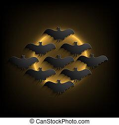 Vector halloween background. Eps10