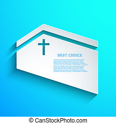 vector Christian background Eps10