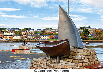 Kinsale Harbour. Ireland - Nautical Sculpture in Kinsale...