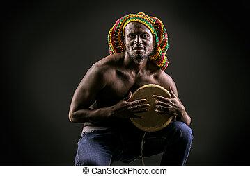 africano, tambor