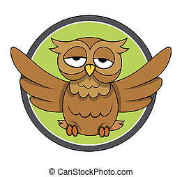 Owl Vector Illustration - Drawing Art of Owl Vector...