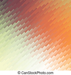 colorful mosaic banner background, abstract vector...