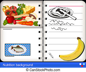 nutrition background